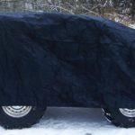 DICE ATV Cover Suojapeitto Musta 251x125x85cm
