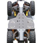 IRON  BALTIC Pohjapanssari CAN AM Renegade 800R ->2011 ALUMIINI